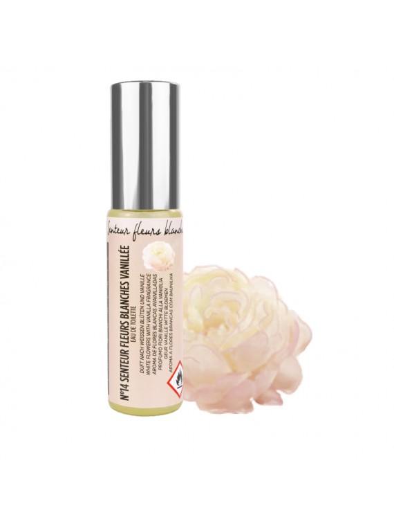 parfum fleur blanche vanillée miss europe action beauté