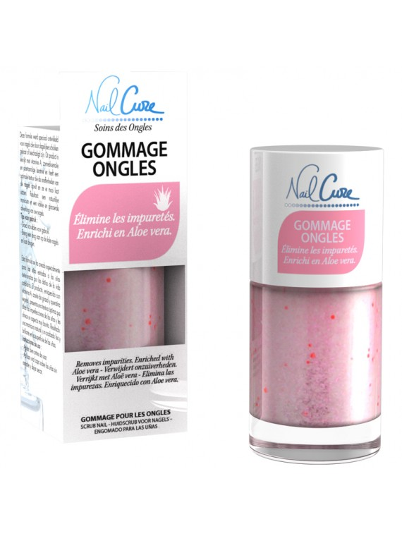 vernis soin gommage ongles