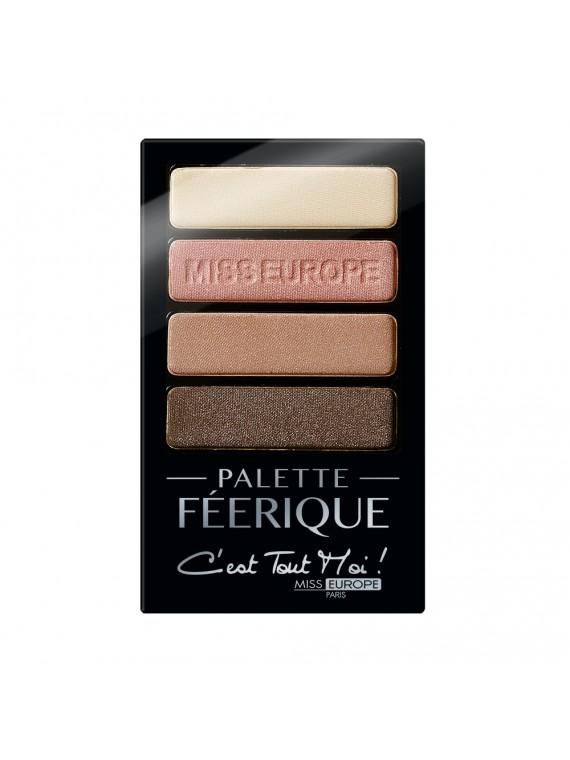 palette féerique nude miss europe